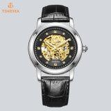 Moda Custom Men's Mechanical Movement Automatic Watch Skeleton Crystal Watch 72835