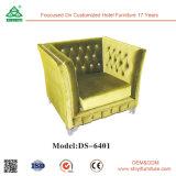 Moderner Entwurfs-Hotel-Möbel-Wohnzimmer-Gewebe-Sofa