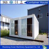 Los paneles de emparedado del marco de acero hechos casa modular plegable de la casa del envase