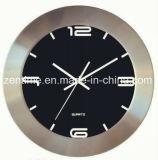 L'orologio di parete del quarzo del blocco per grafici del metallo per la decorazione domestica nel disegno caldo