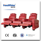ヘッドレストおよびカップ・ホルダー(T016-A)が付いている多機能の電子横たわる劇場の椅子の映画館の椅子