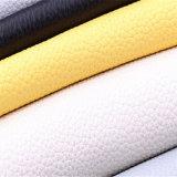 Couro macio de Upholstery do plutônio do PVC dos bens da venda 2017 superior nova para a mobília das bolsas de Carseat