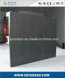 Indicador de diodo emissor de luz interno Rental de fundição do estágio dos gabinetes do alumínio da curva de P3.91mm