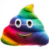 직물 견면 벨벳 장난감 고물 Emoji 다채로운 베개