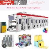 Asy-G Series Rail computarizada de papel térmico de impresión en huecograbado de impresión Prensas