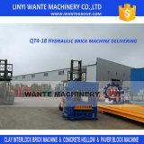 Máquina oca concreta hidráulica do tijolo Qt4-25/bloco com capacidade elevada