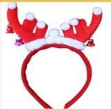 Decoração de Headware do gancho de cabelo dos Antlers do Natal (JG662)