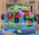 Bouncer di salto del camion gonfiabile, commercio all'ingrosso rimbalzante del castello