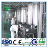 Terminar la cadena de producción pasterizada del tratamiento de la leche