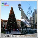 Visualizzazioni commerciale indicatore luminoso artificiale gigante degli alberi di Natale di 30m - di 5m