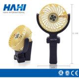 Ventilateur électrique portatif tenu dans la main rechargeable de main de vent violent mini