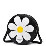 Borsa del cerchio della rappezzatura di tono del fiore tre di Sun e sacchetto di Crossbody