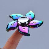 회전급강하 4-5 Mintues 밝은 색깔 아연 합금 UFO 싱숭생숭함 방적공