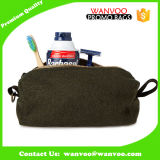 Sacchetto cosmetico del sacchetto degli uomini del feltro della coperta del tessuto della lavata di corsa della toletta su ordinazione dell'articolo da toeletta