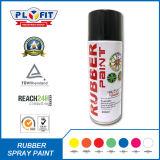 Pintura de aerosol de goma colorida para la superficie del neumático de coche