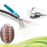 UTP /FTP/SFTP Cat5e LAN-Kabel-abgeschirmte Zeile mit Reißleine
