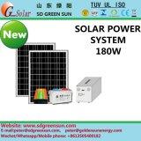 fonte de sistema solar sozinho do carrinho 180W/alimentação solar para Home/residencial (2017)