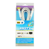 Sipu 1.4V HDMI Flat Cable met Ethernet 24k 3D Supports