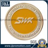 Умрите пораженное бронзовое мягкое качество Hight монетки эмали