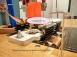 máquina de soldadura plástica do estilo dobro de alta freqüência do pedal das cabeças 5kw