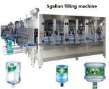 Usine remplissante de mise en bouteilles de 5 gallons d'eau potable automatique de baril pour 450bph