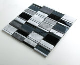 De Tegels Aacrrb3101 van de Muur van de Badkamers van Backsplash van de Keuken van de Decoratie van de Tegels van het Glas van Matel van de Tegels van het Mozaïek van het aluminium