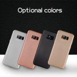 ¡Nueva llegada! Caja del teléfono del diseño TPU de la textura del carbón para Samsung S8