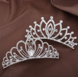 Sparking Alloy Rhinestone Crystal Comb Wedding Tiaras Crown