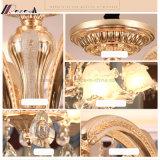 寝室のための水晶甘い亜鉛合金の大気の蝋燭のシャンデリア