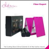 2pcs / set 3D fibra pestañas rimel de las pestañas Lash Mascara impermeable doble Maquillage grueso Mejorar Curling Mascara