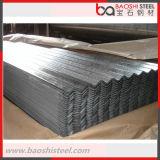 Hoja de acero acanalada del material para techos del Galvalume G550 para la venta