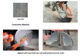 El corte circular soldado laser del diamante consideró la lámina para el concreto
