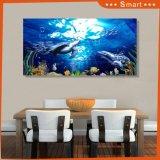 La pintura al óleo impresa Digitaces marina del mamífero para la decoración casera