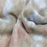 Rosafarbene Farben-Form-Zusatzgeräten-Dame Polyester Printing Scarf, Winter-Schal