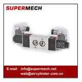 Tipo de conexão válvula da placa modelo de Airtac de solenóide 4m220-08 24V 110V 220 volts