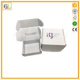 Rectángulos acanalados coloreados de empaquetado cosméticos del rectángulo de papel del regalo