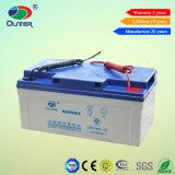 Bateria acidificada ao chumbo popular da garantia de comércio 65ah 12V