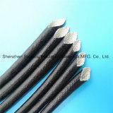 UL-aufgeführte weiche Acrylharz-überzogene schwarze Fiberglas-Isolierung Sleevings für f-Grad-Motor