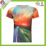 Camisa del funcionamiento de entrenamiento del golf del entrenamiento de la gimnasia de las camisas de la compresión de la piel de los hombres