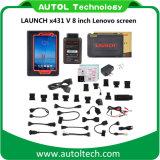 [Der autorisierter Verteiler-] Produkteinführungs-X431 V8inch Mutil Tablette 8inch Lenovo Bildschirm Sprachvolles Systems-Diagnosescanner-der Produkteinführungs-X431 V