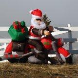 Noël gonflable Santa de décoration d'année neuve