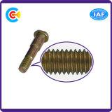 Винты шага углерода гальванизированные Steel/4.8/8.8/10.9 овальные для Railway здания