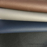 Cuero azul del PVC para los muebles, silla de la oficina, silla del masaje