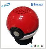 Pokeball de venda quente Pokemon vai altofalante sem fio de Bluetooth do jogo do USB