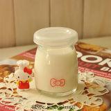 Hola tarro de cristal del yogur del gatito 100ml mini