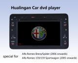 アルファロミオ車のDVDプレイヤー(HL-8804GB)との159自動DVD GPS
