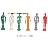 Geschilderde Menselijke Mannequin, Mannequin, de Mannequin van de Mens (12 '' - M/F)