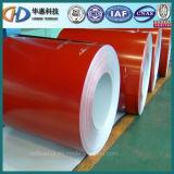 Bobine en acier enduite par couleur PPGI de Dx51d faite en Shandong