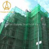 HDPE 비계 파편 메시 안전망 건축