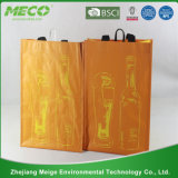 Personifizierter preiswerter Zoll gedruckter Papierwein-Beutel (MECO193)